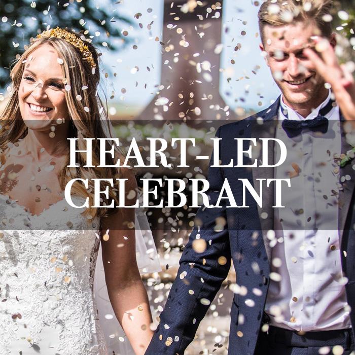 HEART-LED CELEBRANT